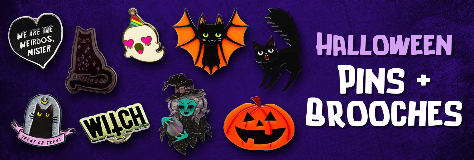 Halloween Pins and Brooches