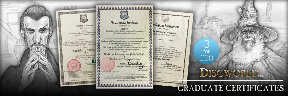 Discworld Certificates
