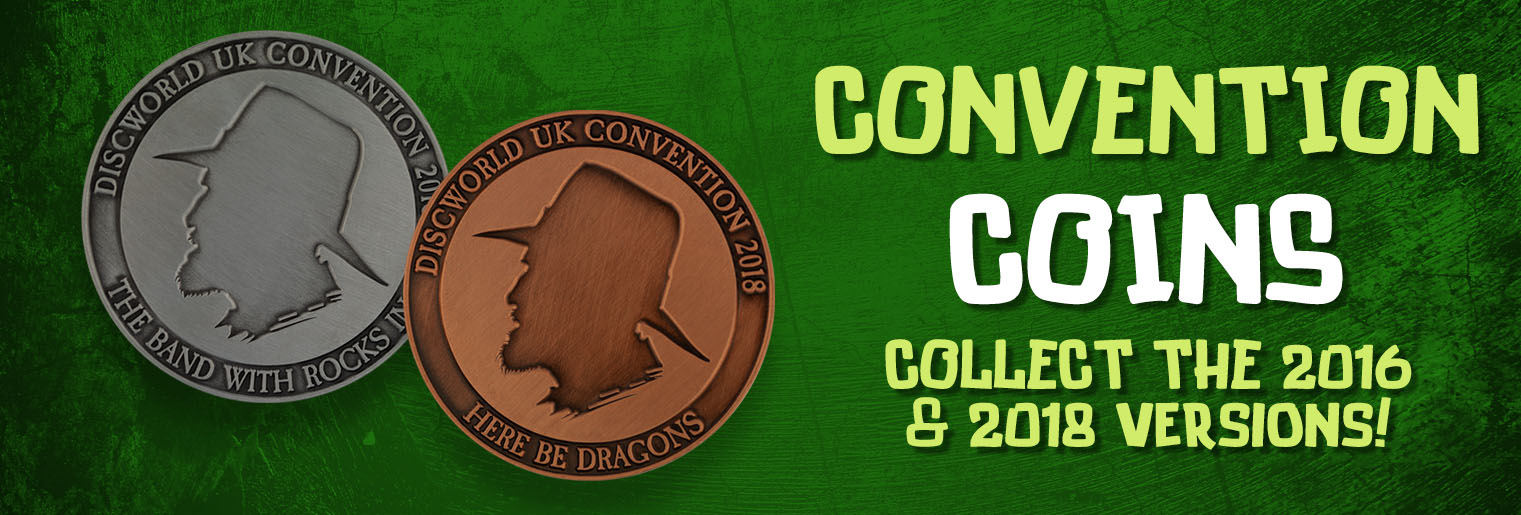 Discworld UK Convention Collectable Coins