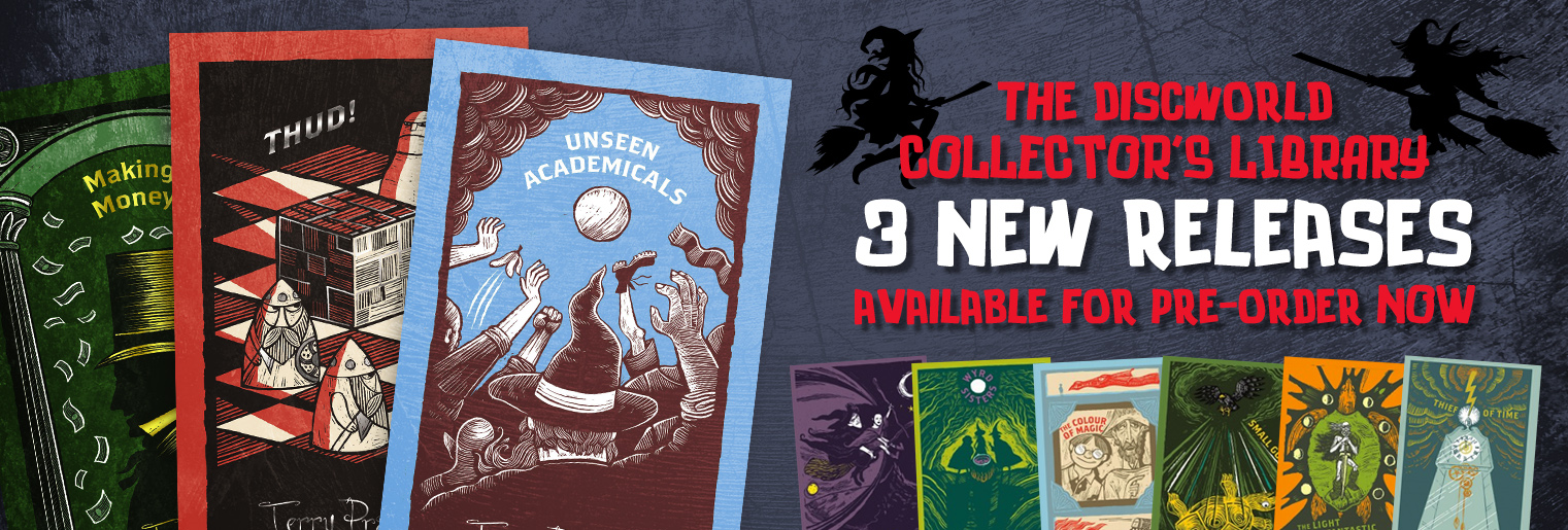 Discworld Collector's Library