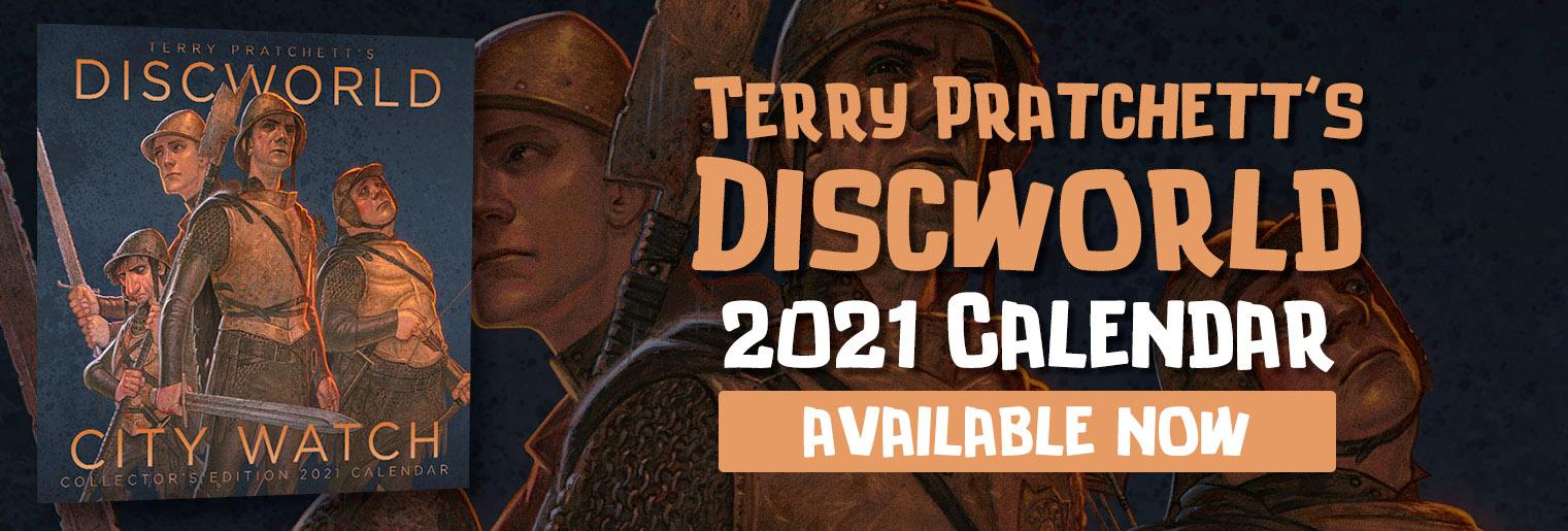 Terry Pratchett's Discworld City Watch Calendar 2021