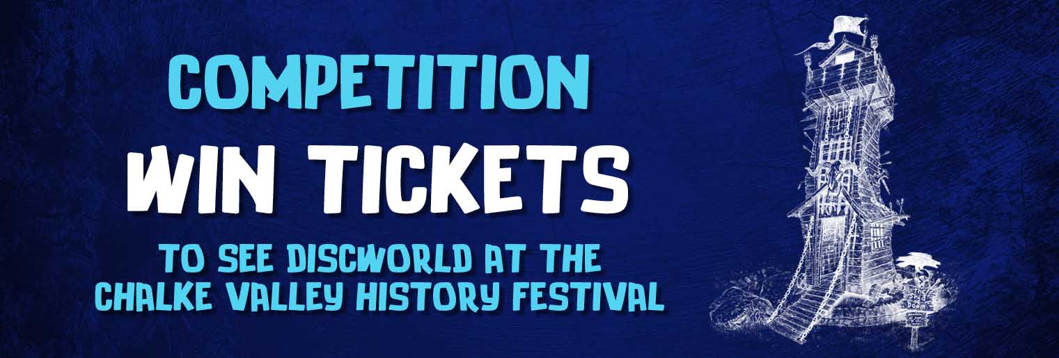 Win Tickets to see Discworld at the Chalke Valley History Festival