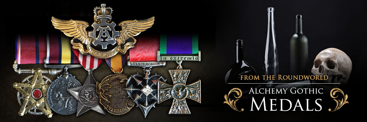 Alchemy Gothic Medals