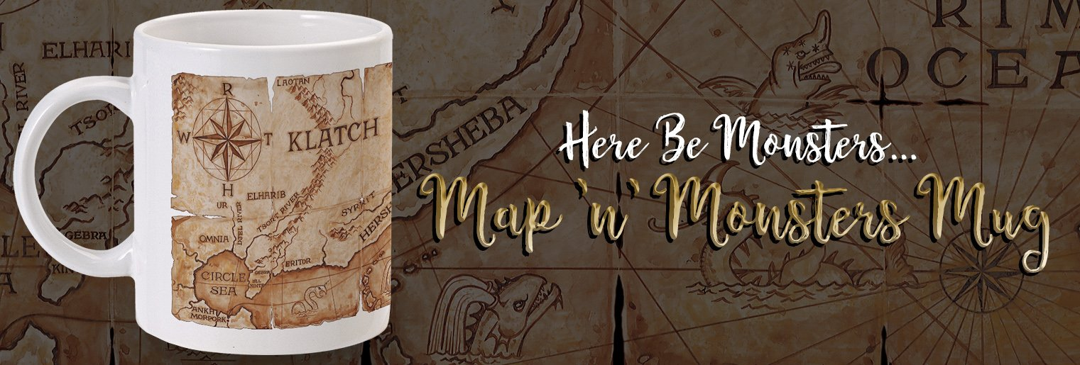 Map 'n' Monsters Mug