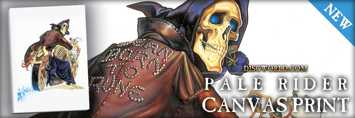 Pale Rider Canvas Print now available