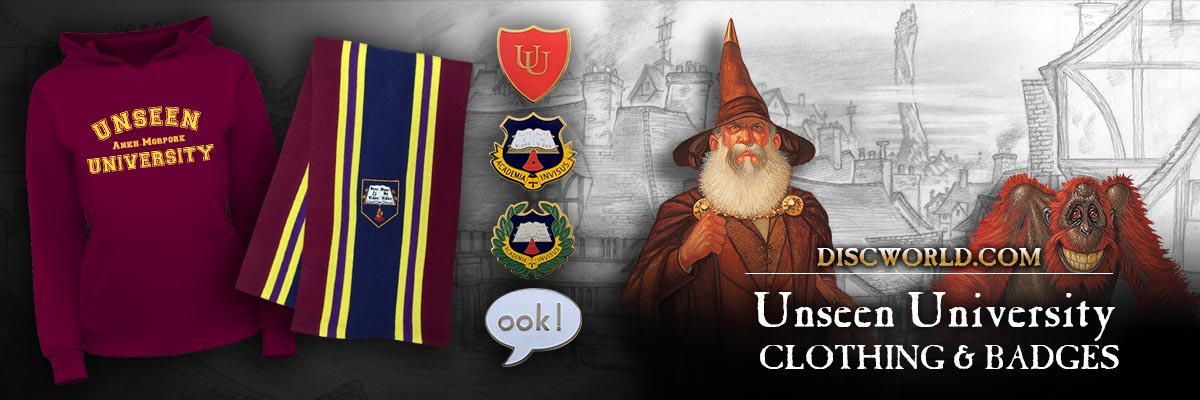 Unseen University Clothing and Apparel