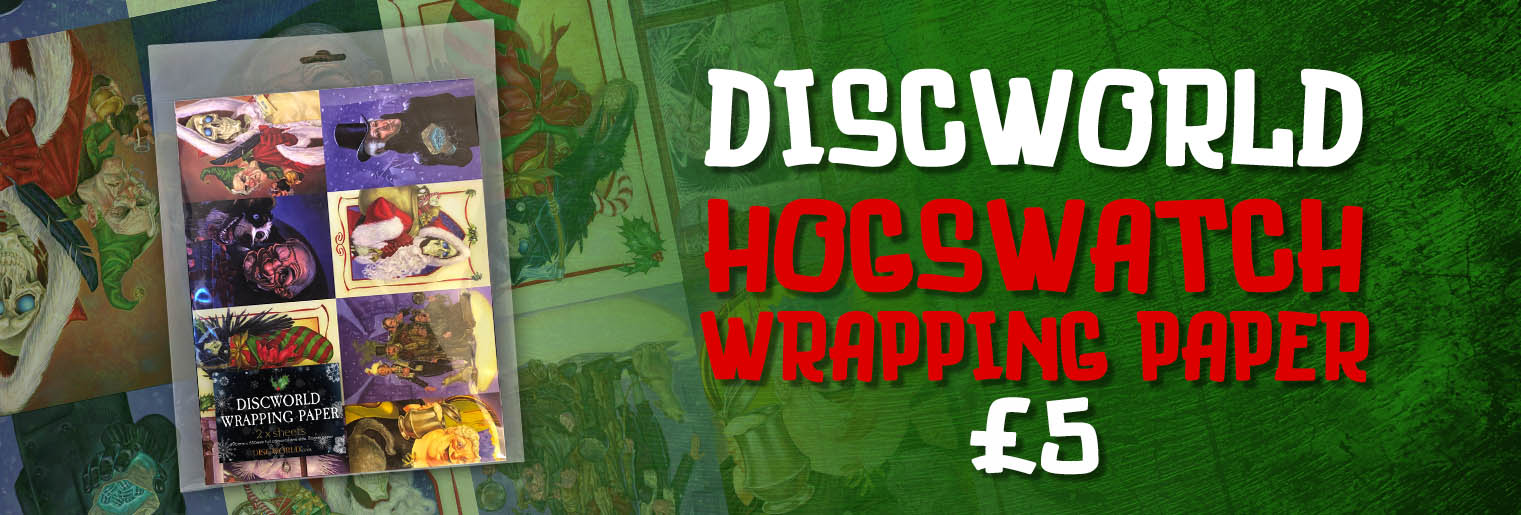Discworld Wrapping Paper
