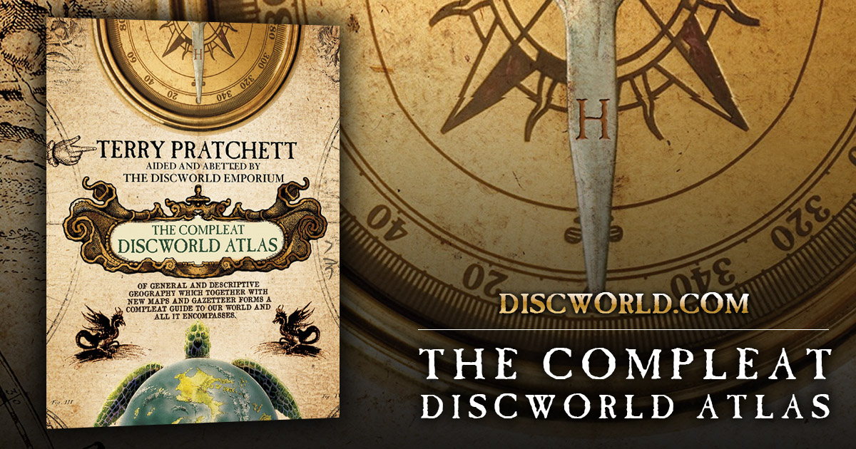 Discworld Companions & Maps|Terry Pratchett Books ...