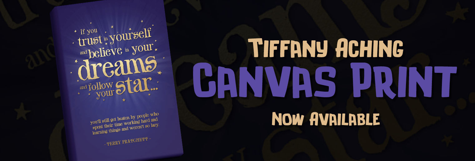 Tiffany Aching Canvas