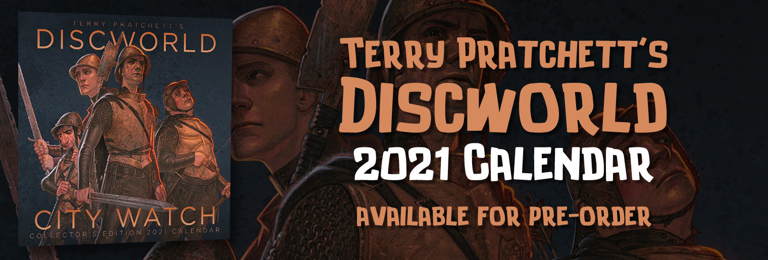 Terry Pratchett's Discworld City Watch Calendar 2021