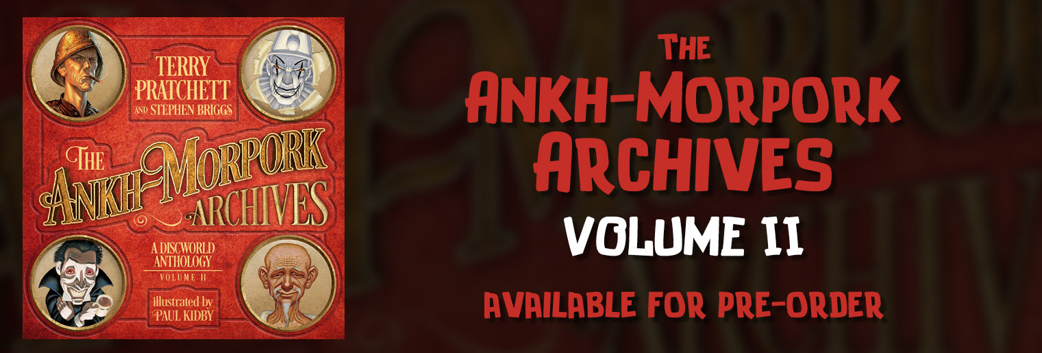 The Ankh-Morpork Archives Volume 2 - available for pre-order