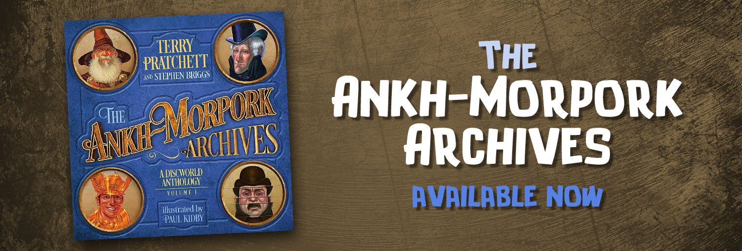 The Ankh-Morpork Archives pre-order