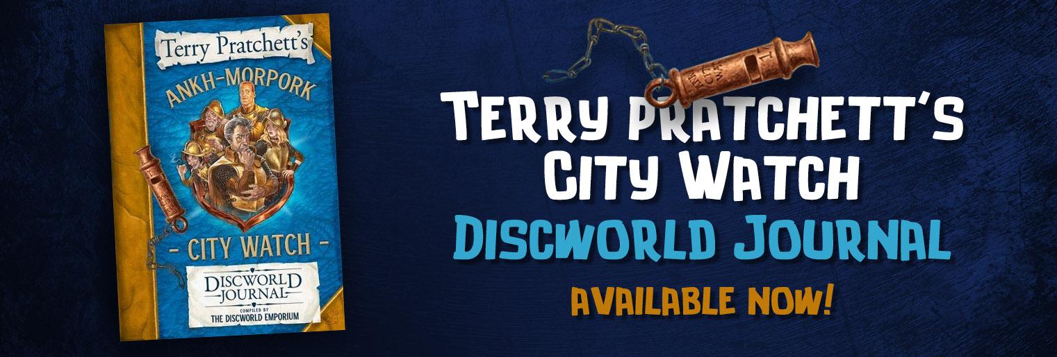 Terry Pratchett's Ankh-Morpork City Watch Journal