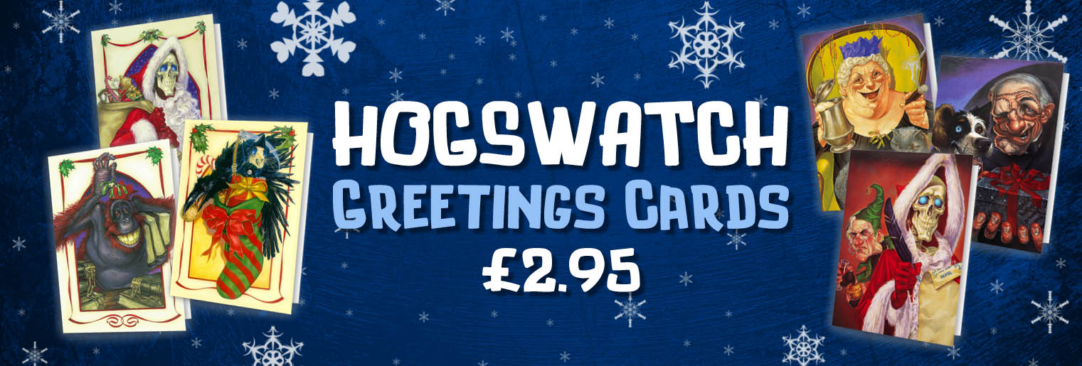 Discworld Hogswatch Cards