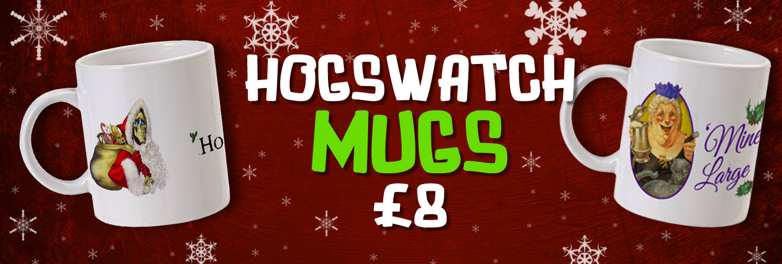 Hogswatch Mugs