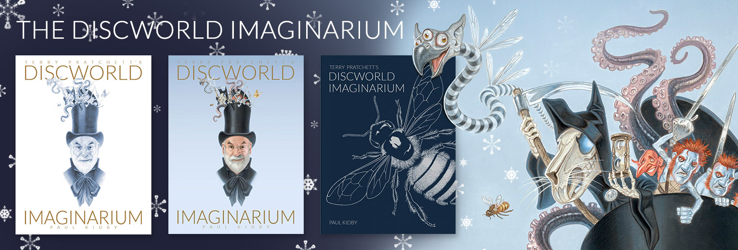 Pre-order the Discworld imaginarium