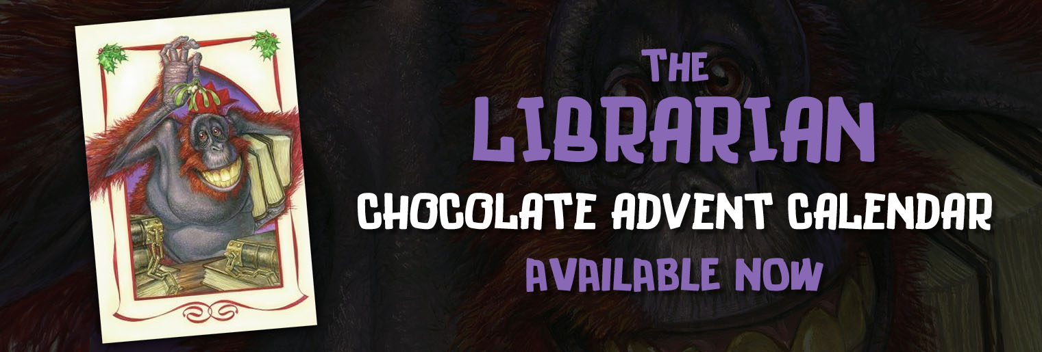 New - The Librarian Chocolate Advent Calendar