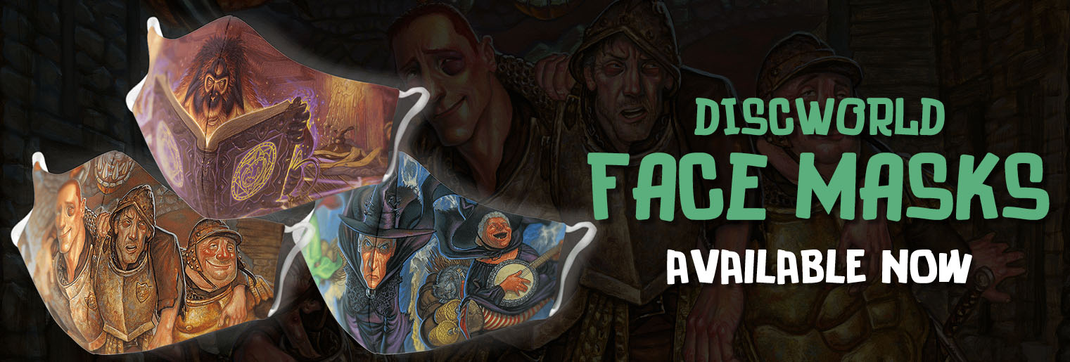 New: Discworld Masks