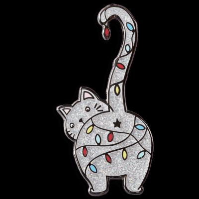 Christmas Kitty Punky Pins
