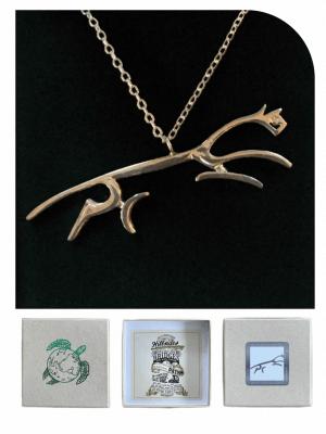 Tiffany White Horse Necklace
