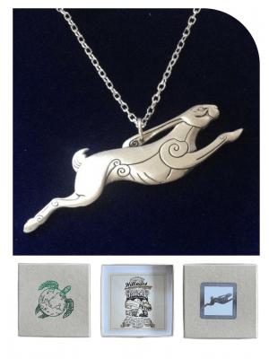 Tiffany's Hare Necklace