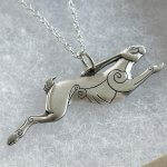 Discworld Jewellery Silver Hare