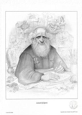 Leonard of Quirm print