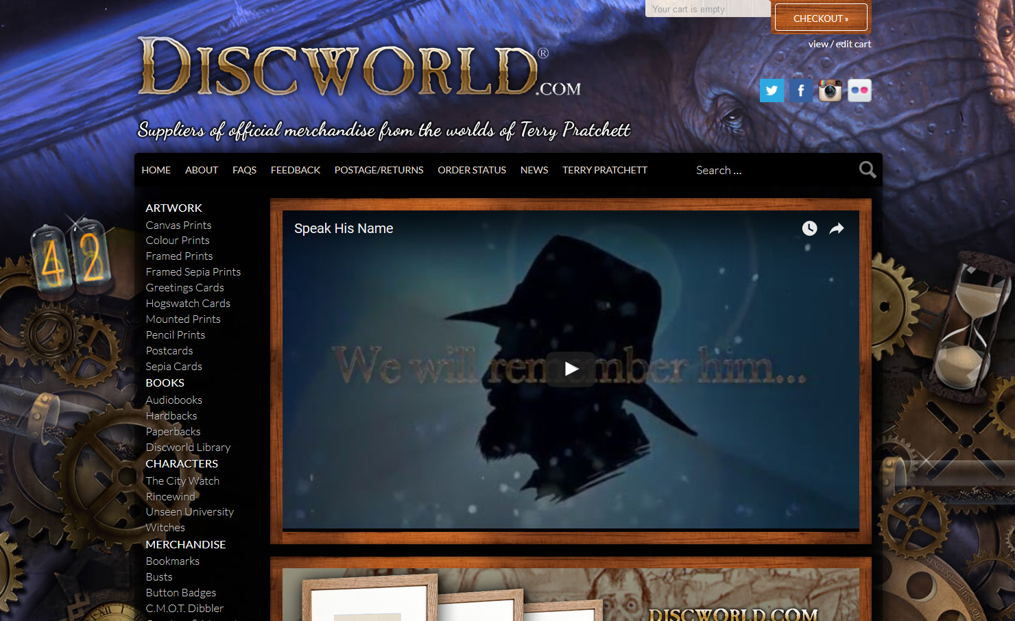 discworld com u2013 merchandise clothing artwork books u0026 collectables
