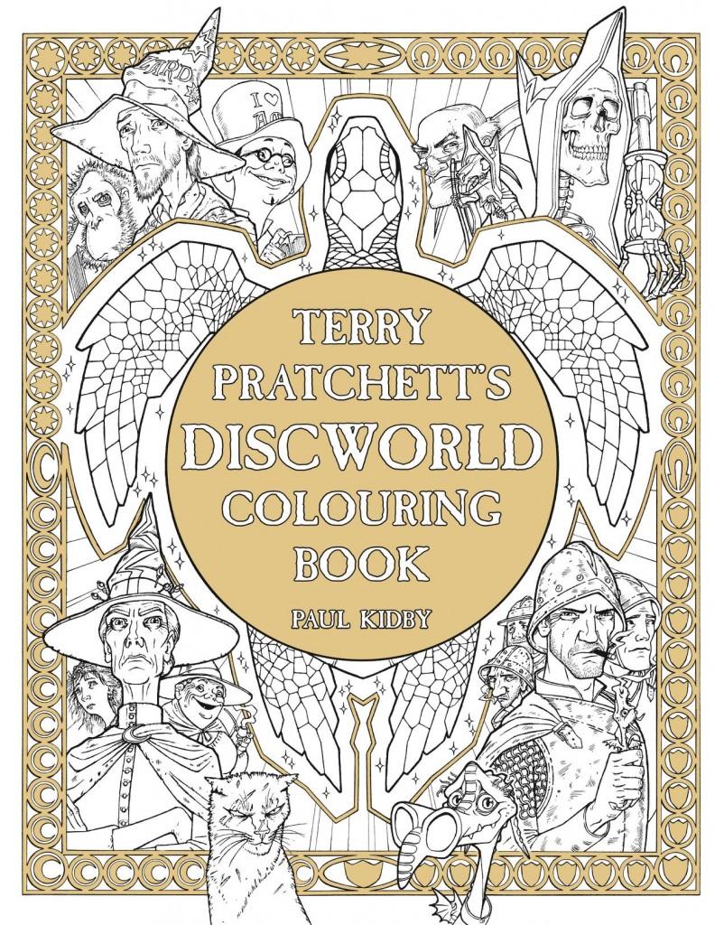 Terry Pratchett\'s Discworld Colouring Book ~ Discworld.com