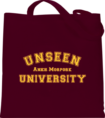 Unseen University Tote Bag