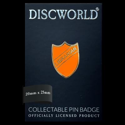 Discworld Librarian Pin