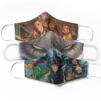 Discworld Masks - Set of Three