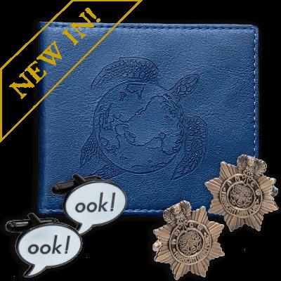 Discworld Cufflinks and Wallet